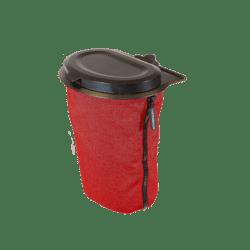 Flextrash prullenbak rood 3L