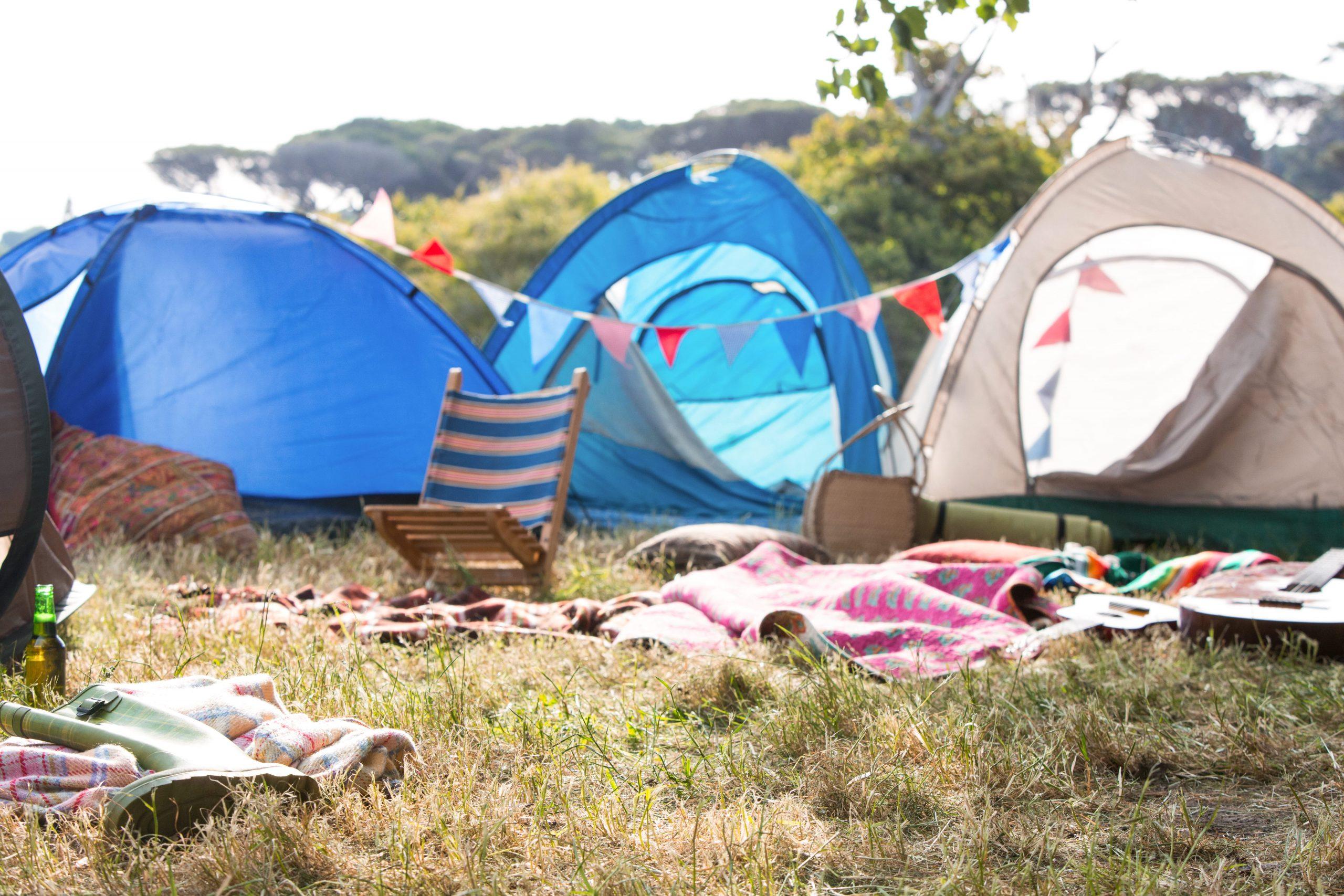 Versierde tenten