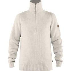 Fjällräven Greenland Re-Wool Sweater Heren Chalk White