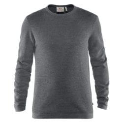 Fjällräven High Coast Merino Sweater Heren Thunder Grey