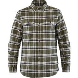 Fjällräven Ovik Heavy Flannel Shirt Heren Deep Forrest